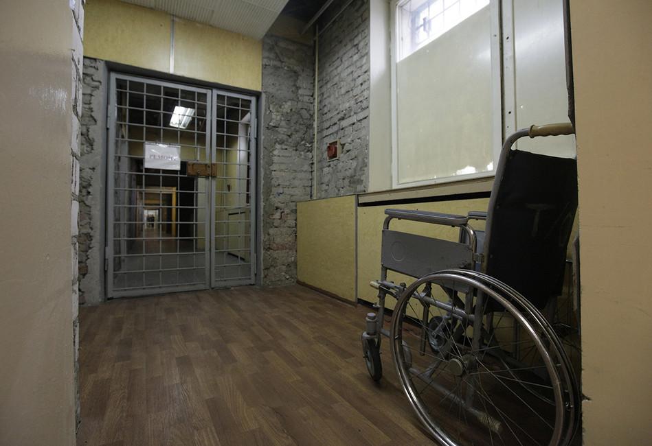 Вследственном изоляторе №1«Матросская Тишина». Фото: Анна Шевелева/ ТАСС
