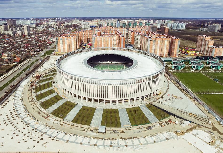 Стадион «Краснодар». Фото: Виталий Тимкив/ ТАСС