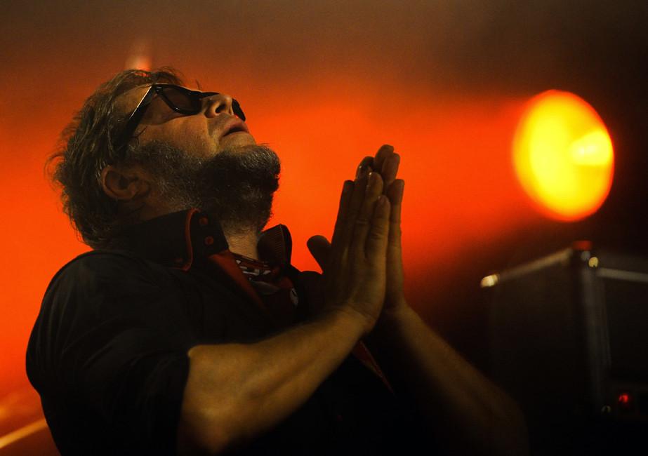 Концерт группы «Аквариум». Фото: Александра Мудрац/ ТАСС