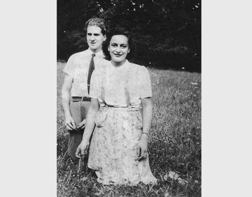 Жан Моравецки иЭлен Берр, 1942 год