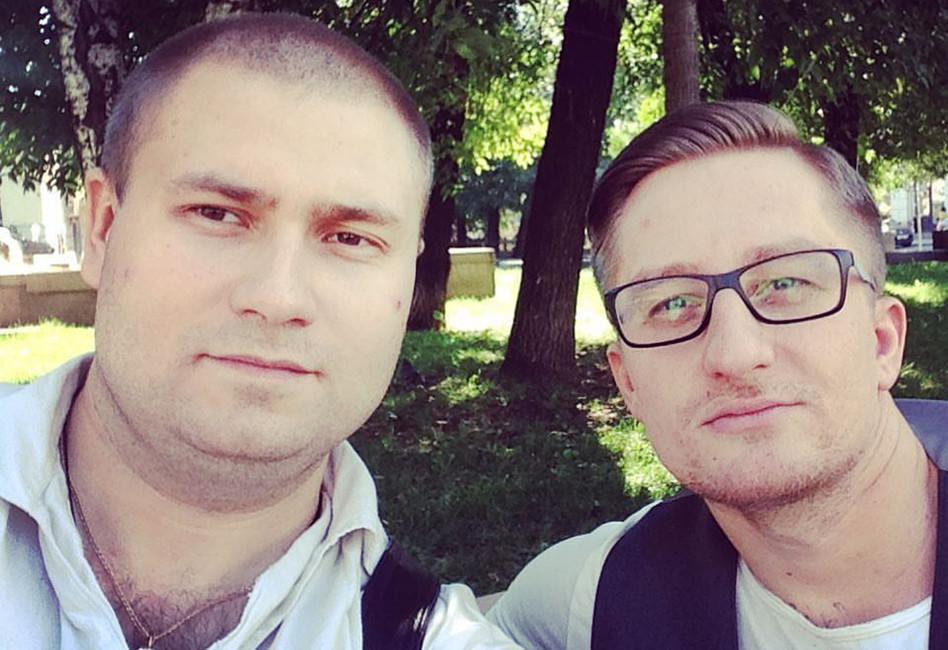 Илья Болтунов иСергей Мохов. Фото: Facebook