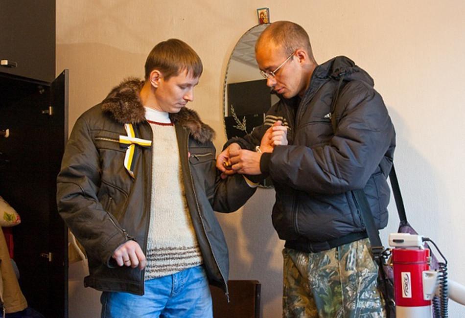 Активисты «Рубежа Севера». Фото: Вконтакте