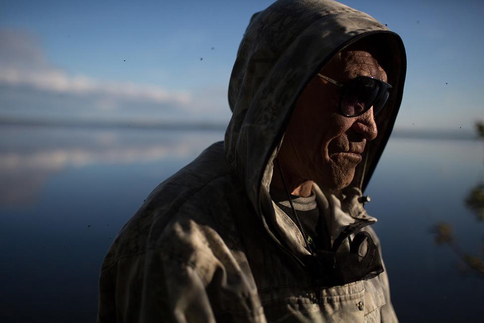 Сергей Кечимов. Фото: Денис Синяков/ Greenpeace