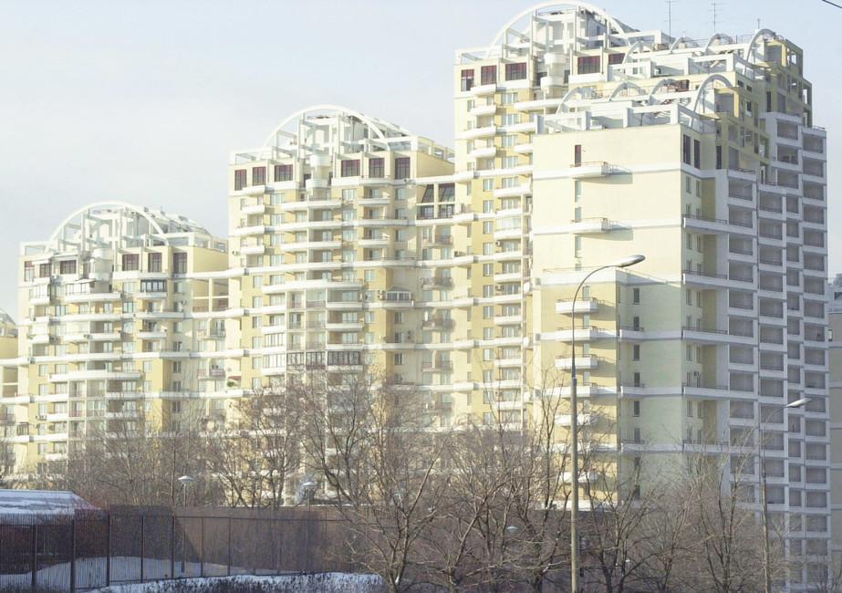Жилой комплекс наулице Улофа Пальме, вкотором проживают депутаты Госдумы. Фото: Марат Абулхатин/ ТАСС
