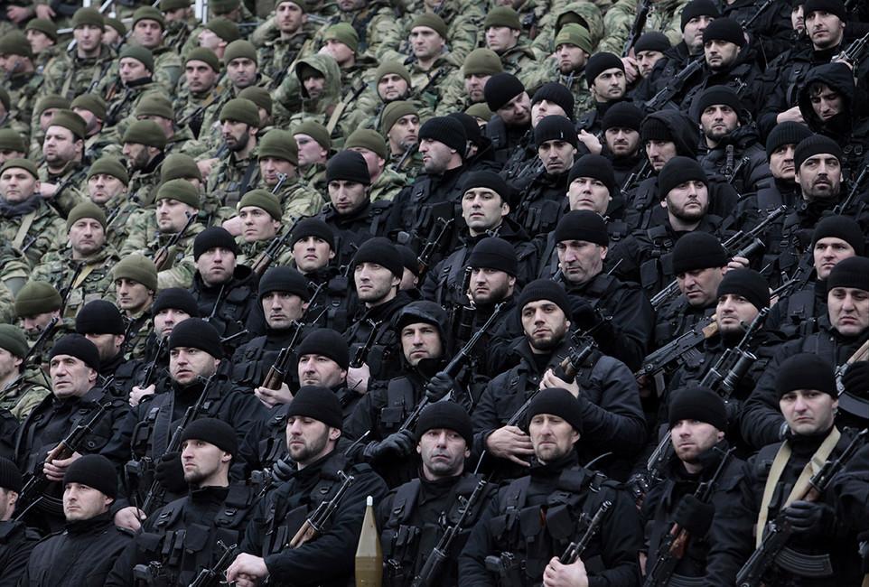 Чеченский спецназ. Фото: Муса Садулаев/ AP/ East News