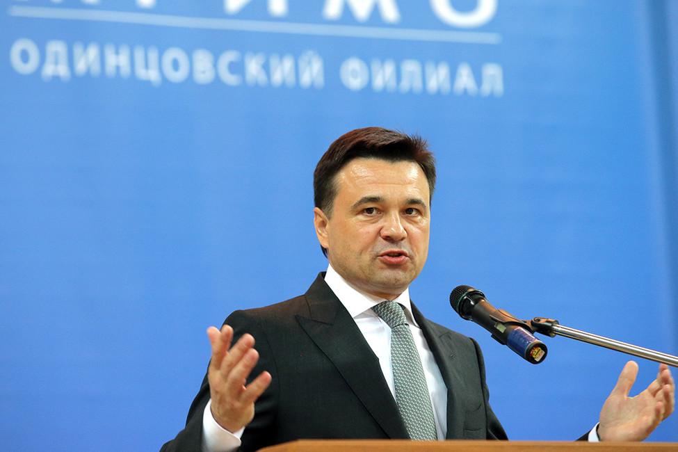Губернатор Подмосковья Андрей Воробьев. Фото: Михаил Метцель/ ТАСС