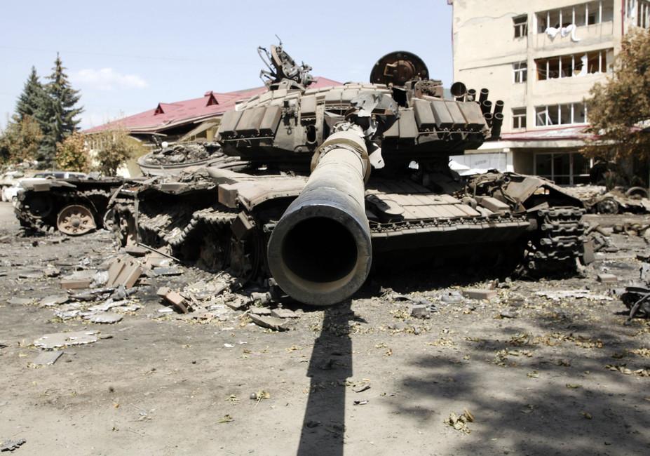 Последствия военного конфликта вЮжной Осетии. Фото: Валерий Матыцин/ ТАСС