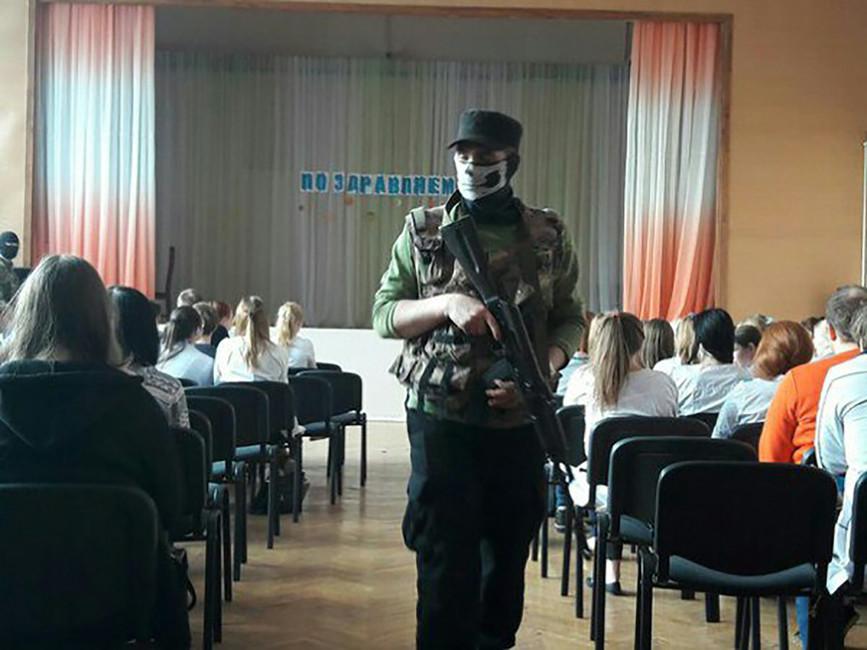 Учения вТихвинском колледже. Фото: ВКонтакте