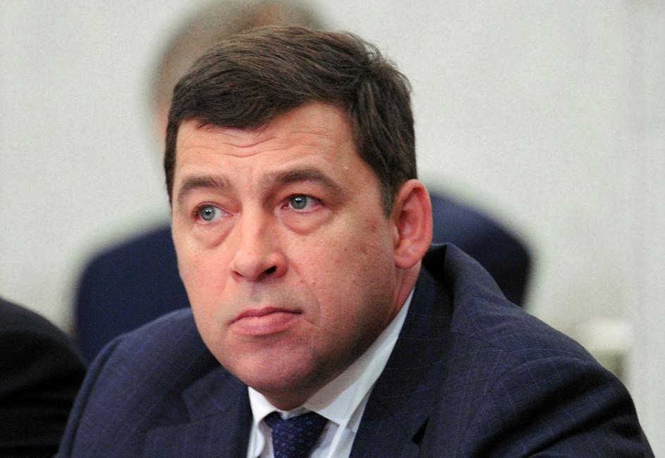 Губернатор Свердловской области Евгений Куйвашев. Фото: Алексей Никольский/ ТАСС