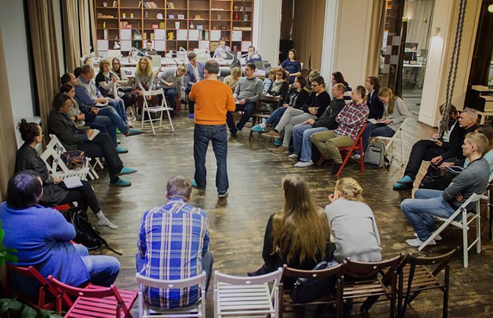 Собрание Комитета Городского пруда. Фото: Дмитрий Протасевич