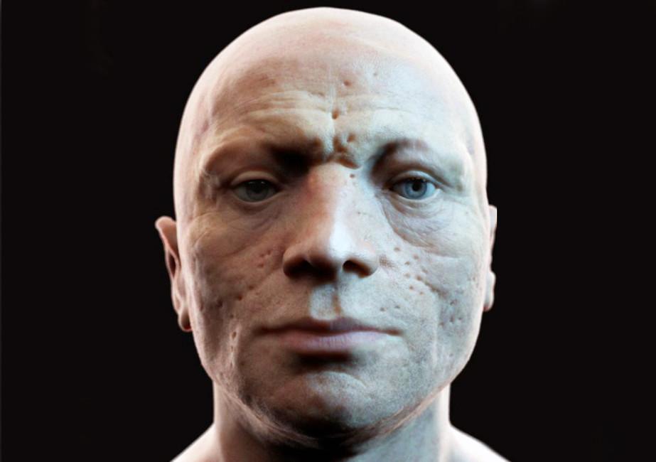 Реконструкция лица Максимилиана Робеспьера студии Visualforensic
