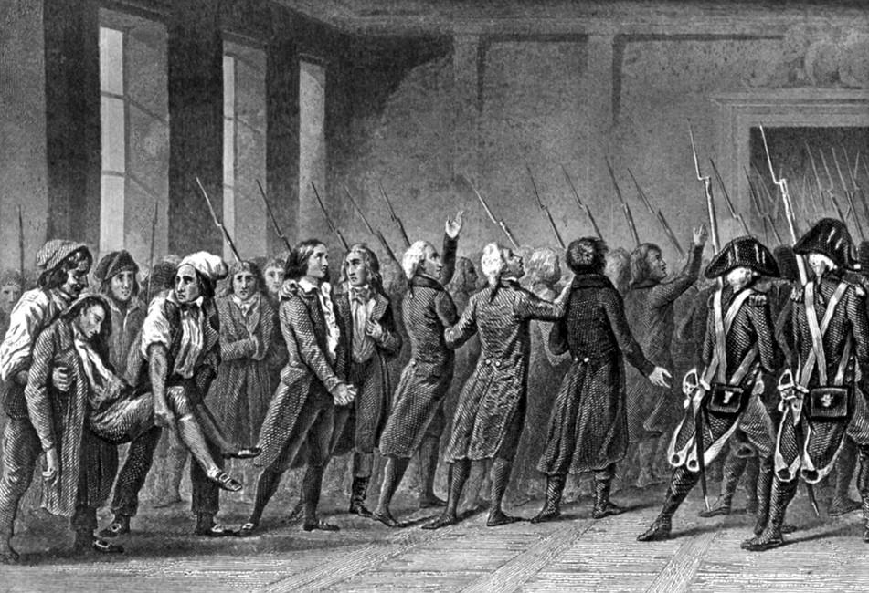 Арест жирондистов, 2июня 1793 года