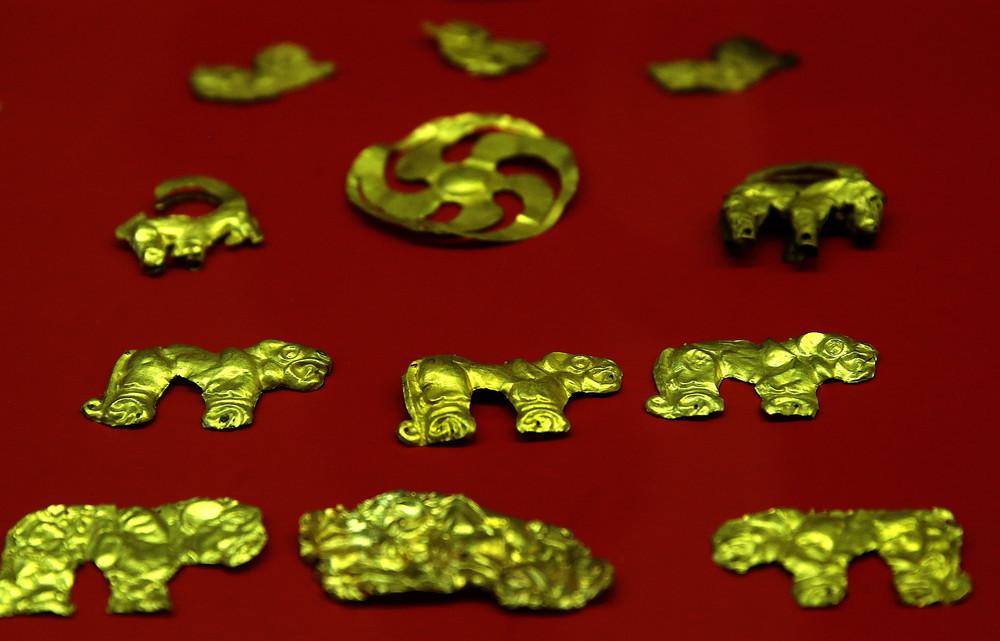 Скифское золото. Фото: Сергей Фадеичев/ ТАСС