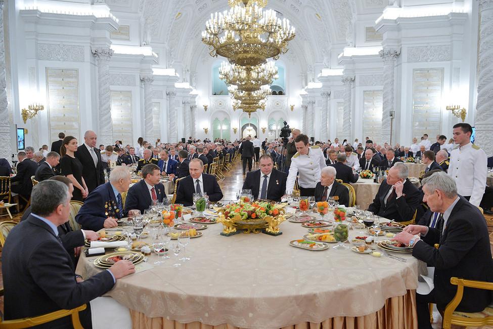 Прием послучаю Дня Героев Отечества. Фото: Алексей Дружинин/ ТАСС