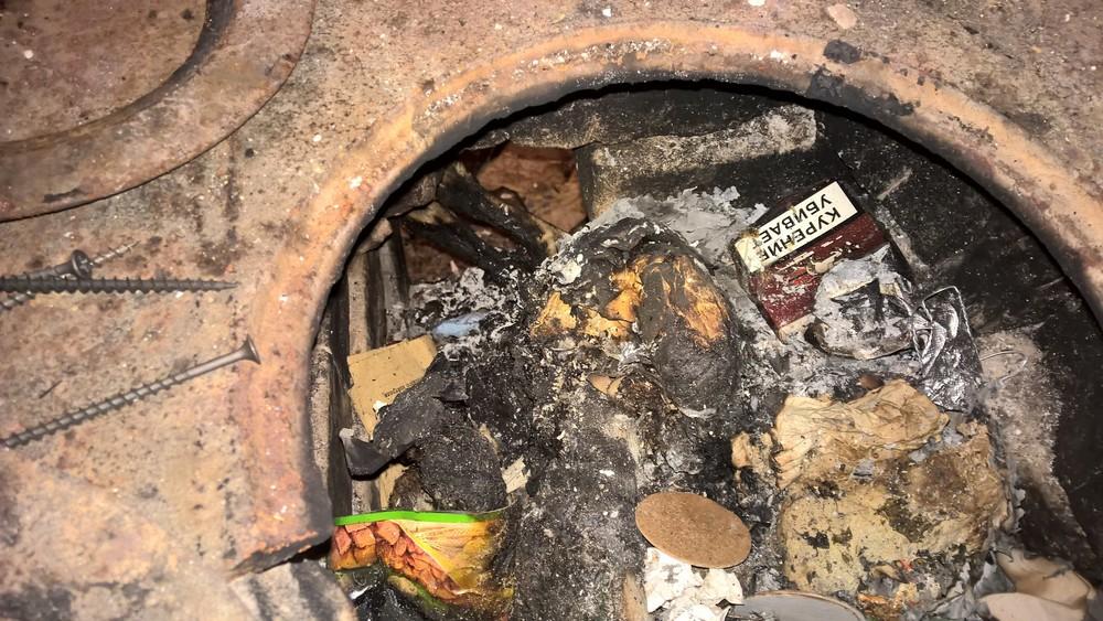 Печь, вкоторой сжигались животные. Фото: Наталья Агафонова/ ВКонтакте