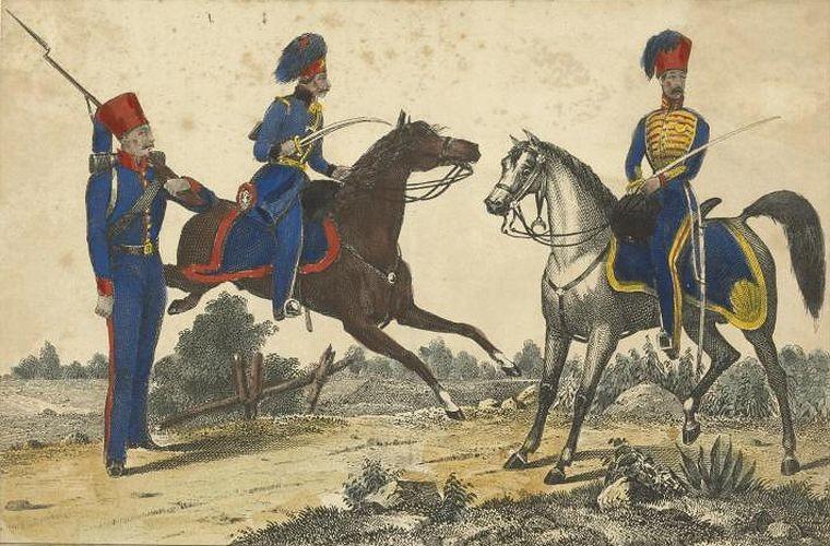 Турецкая кавалерия в1839–1840гг