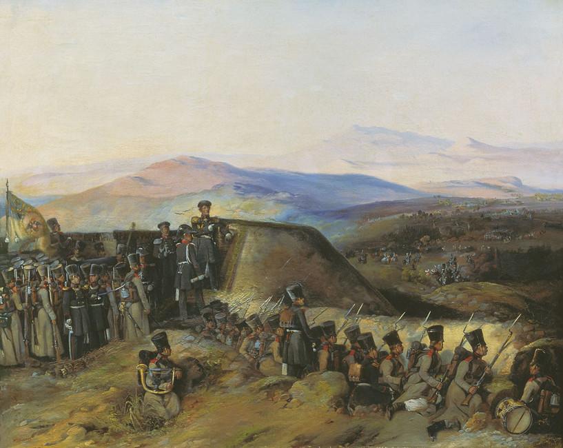 Боевой эпизод изрусско-турецкой войны 1828–1829годов.