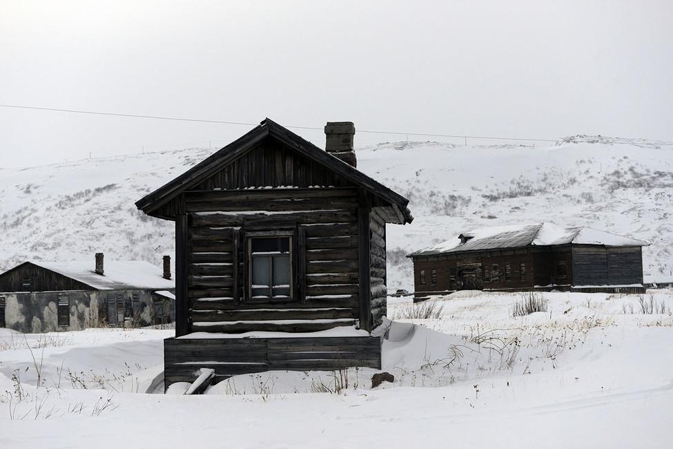 Дом вТериберке. Фото: Лев Федосеев/ ТАСС