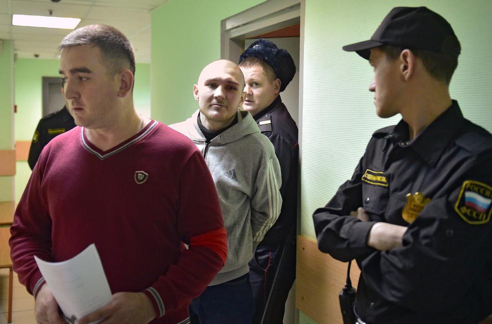 Максим Панфилов перед началом судебного заседания, 28декабря 2016. Фото: Петр Кассин/ Коммерсантъ