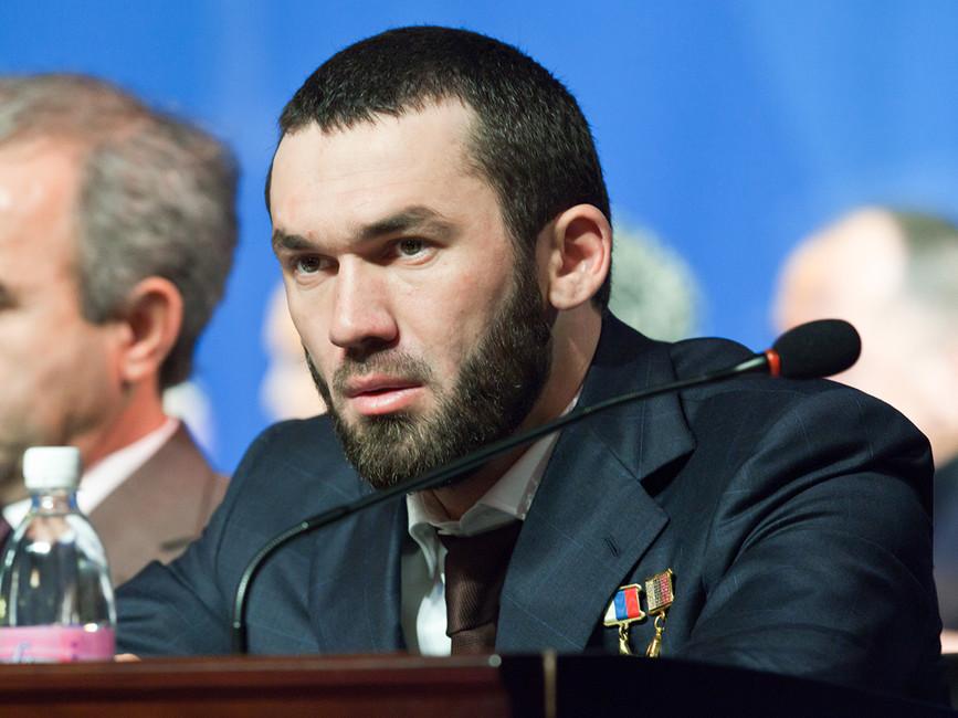 Cпикер чеченского парламента Магомед Даудов. Фото: Сергей Узаков/ ТАСС