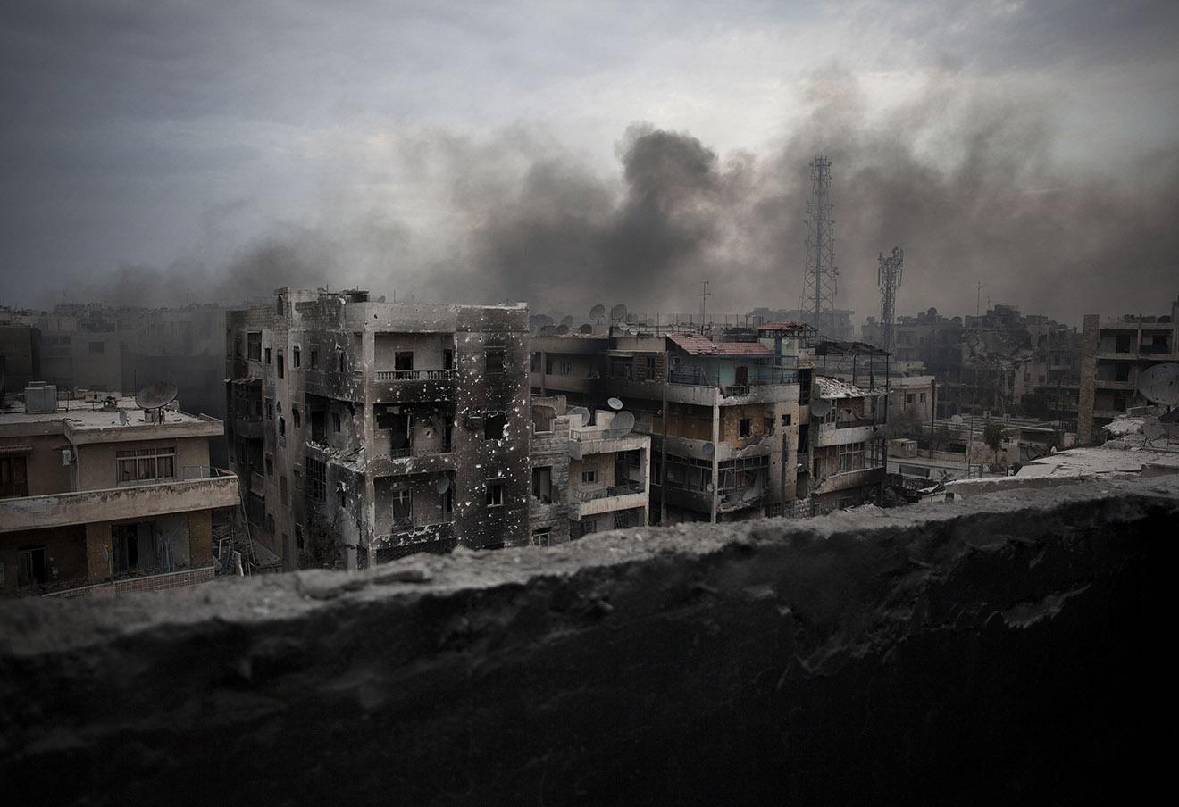 Последствия военных действий в Алеппо, Сирия, 2012 год. Фото: Manu Brabo / AP