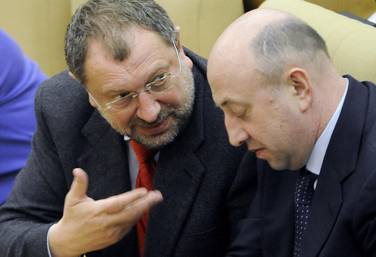 Владислав Резник (слева).