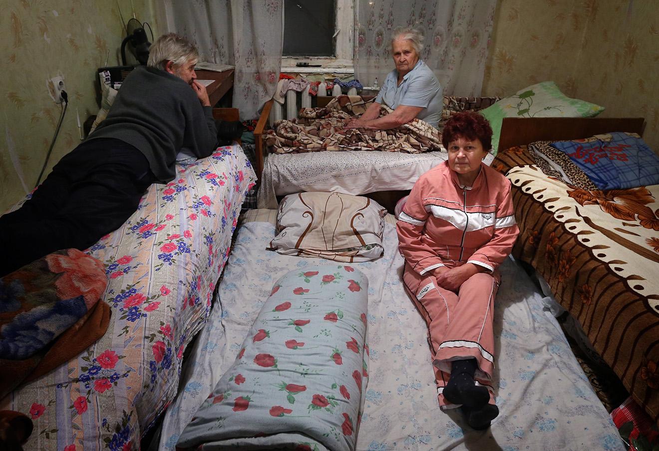 Беженцы из Донецкой и Луганской областей. Фото: Валерий Шарифулин / ТАСС