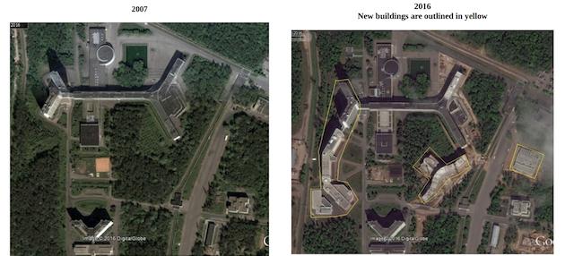 Фотографии из доклада о глобальной разведывательной деятельности России