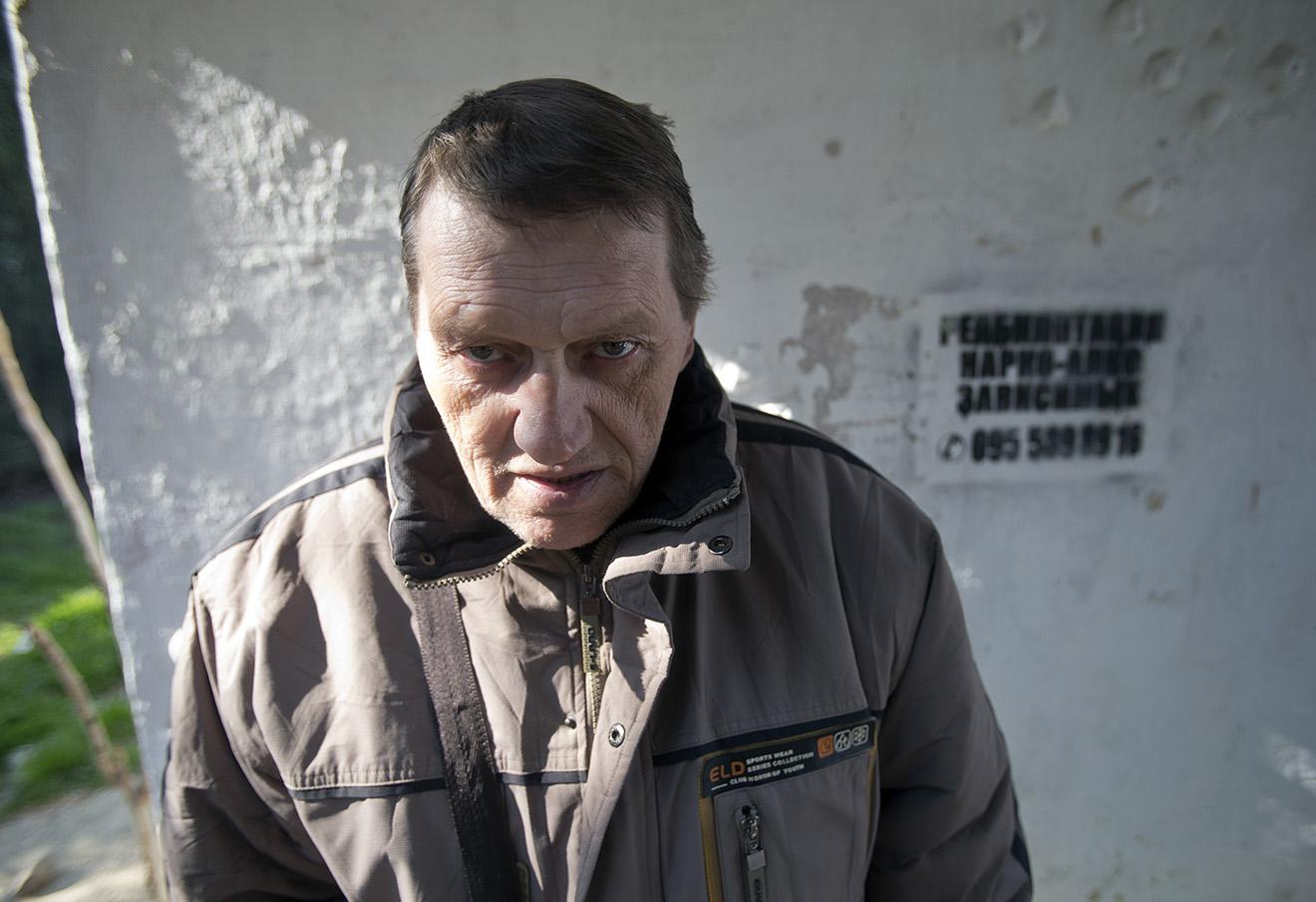 Бывший участник метадоновой заместительной терапии в Севастополе, апрель 2014 года.