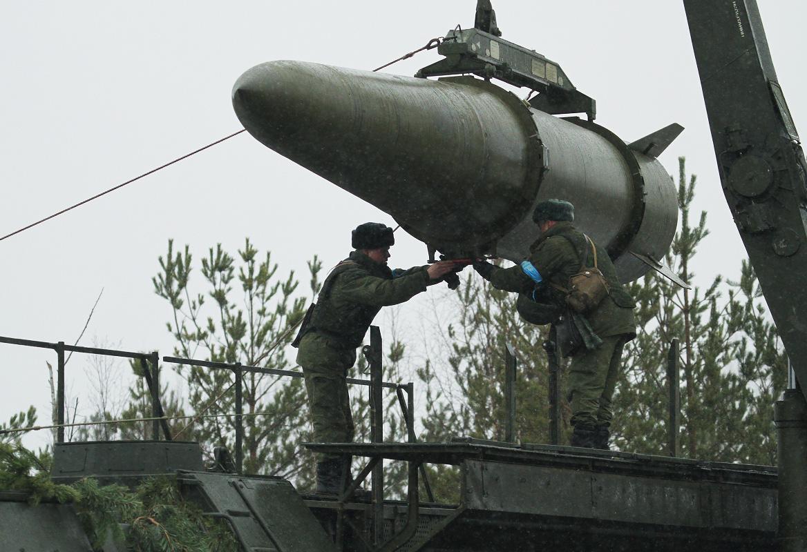 Ракета комплекса «Искандер-М». Фото: пресс-служба ЗВО