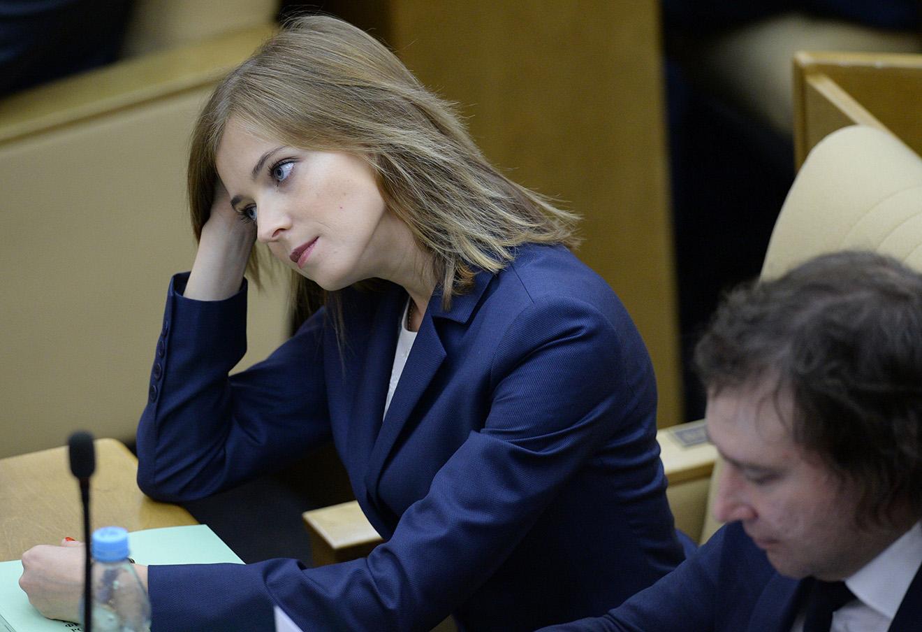 Наталья Поклонская. Фото: Natalia Kolesnikova / AP / East News