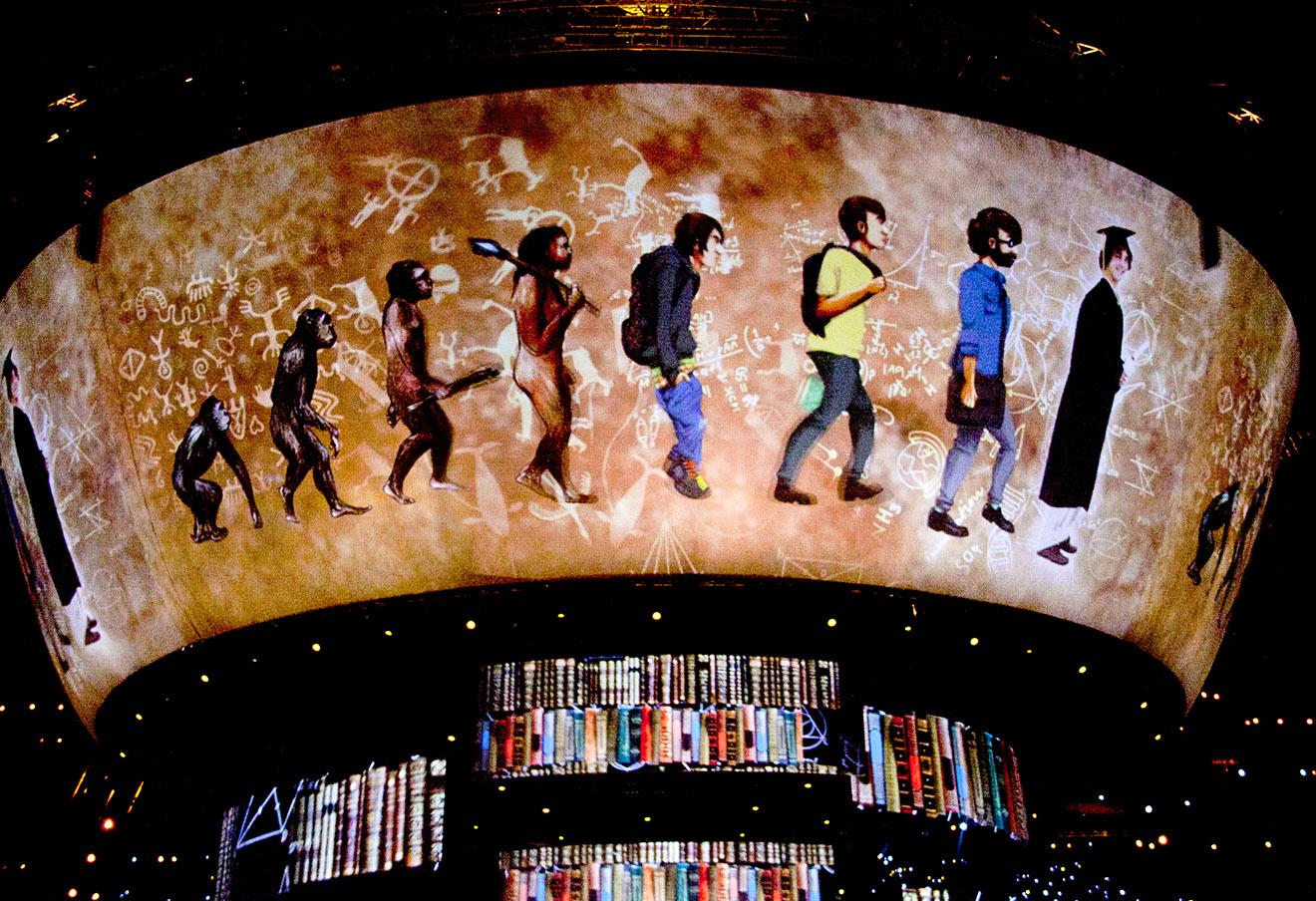 На церемонии закрытия XXVII Всемирной летней Универсиады 2013 в Казани. Фото: Игорь Алексеев / Интерпресс / ТАСС