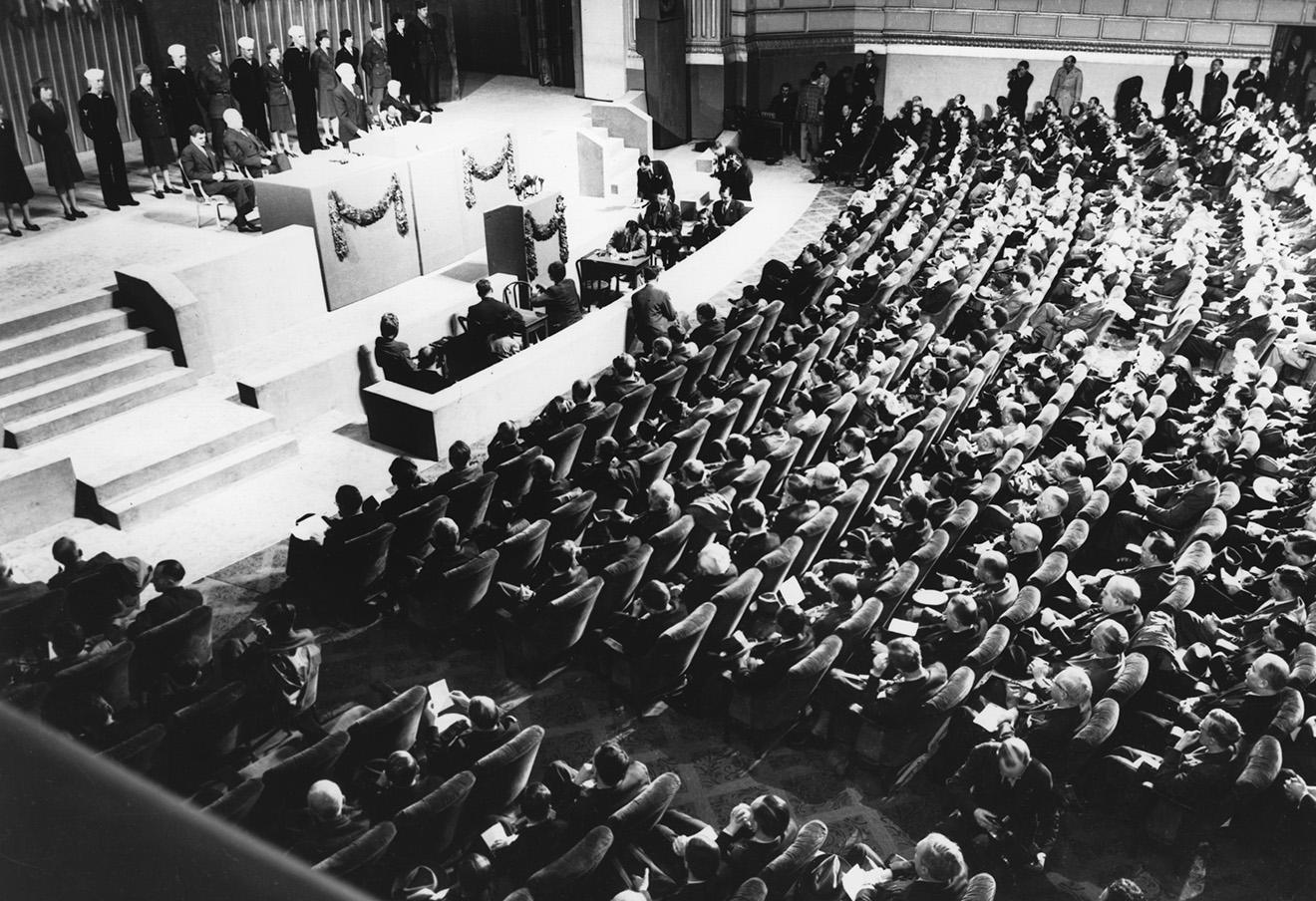 Конференция по созданию ООН в Сан-Франциско в 1945 году.