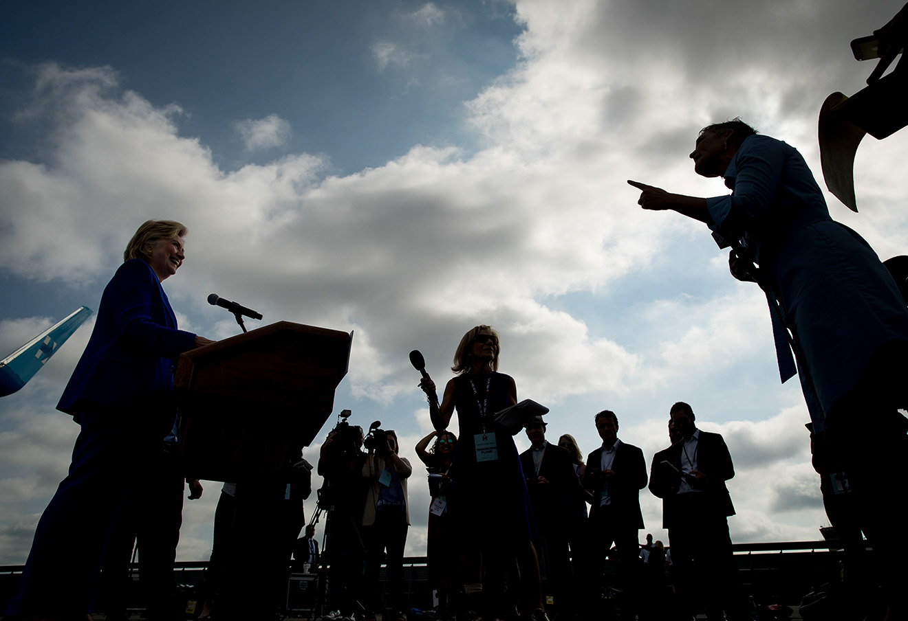 Хиллари Клинтон. Фото: Andrew Harnik / AP