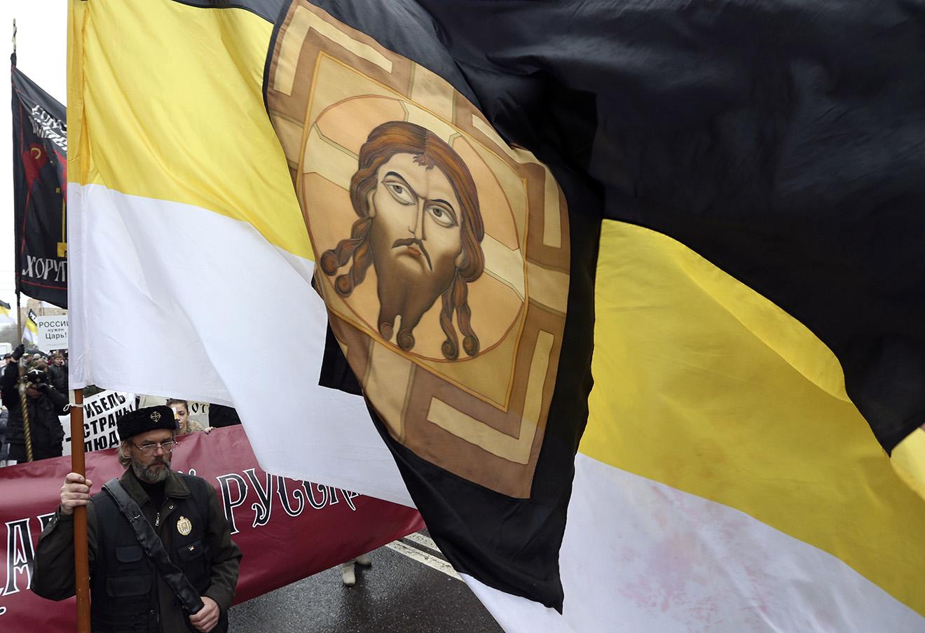 Русский марш. Фото: Сергей Карпухин / Reuters