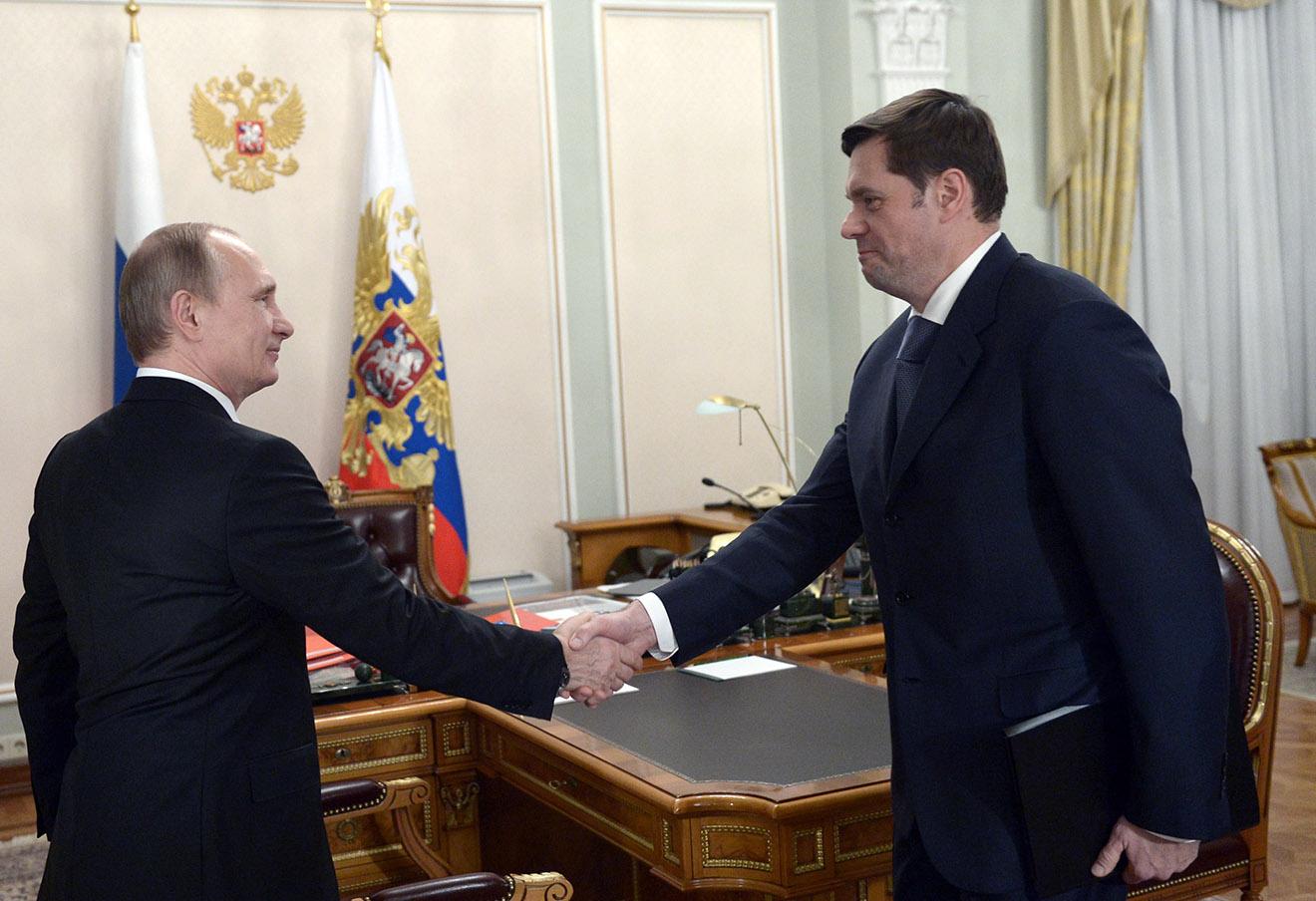 Владимир Путин и Алексей Мордашов.