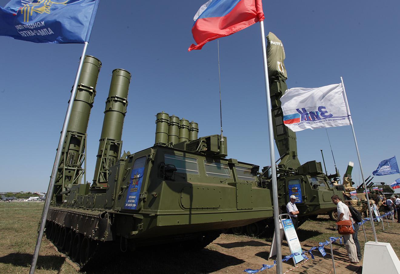 Комплекс ПВО С-300 «Антей-2500». Фото: Марина Лысцева / ТАСС