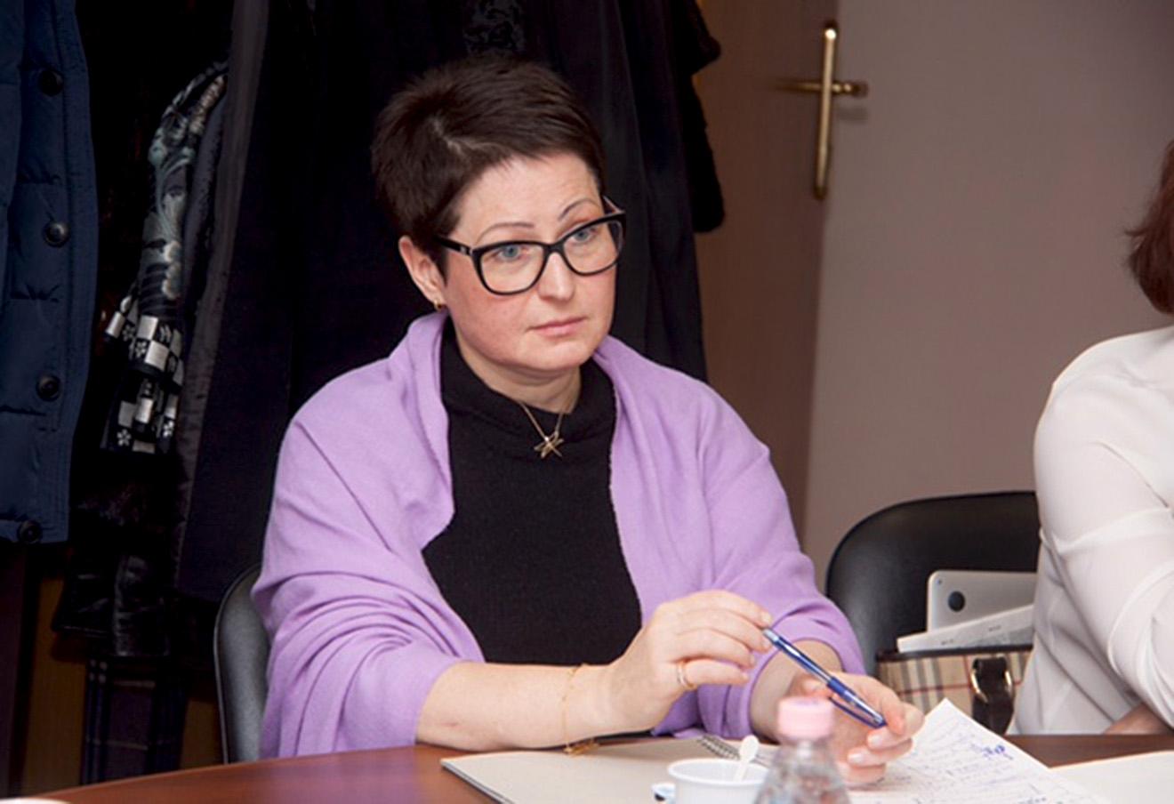 Мария Серновец.