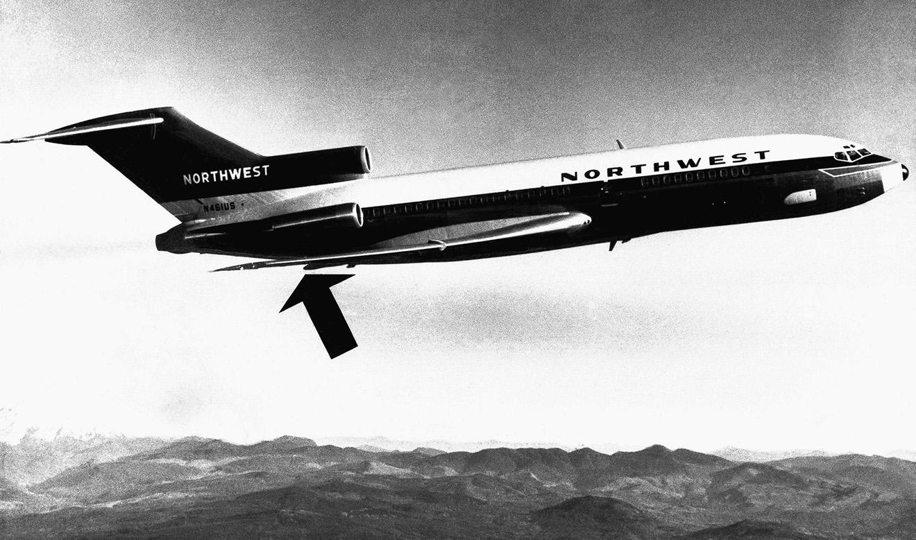 Boeing-727, аналогичный захваченному в 1971 году.
