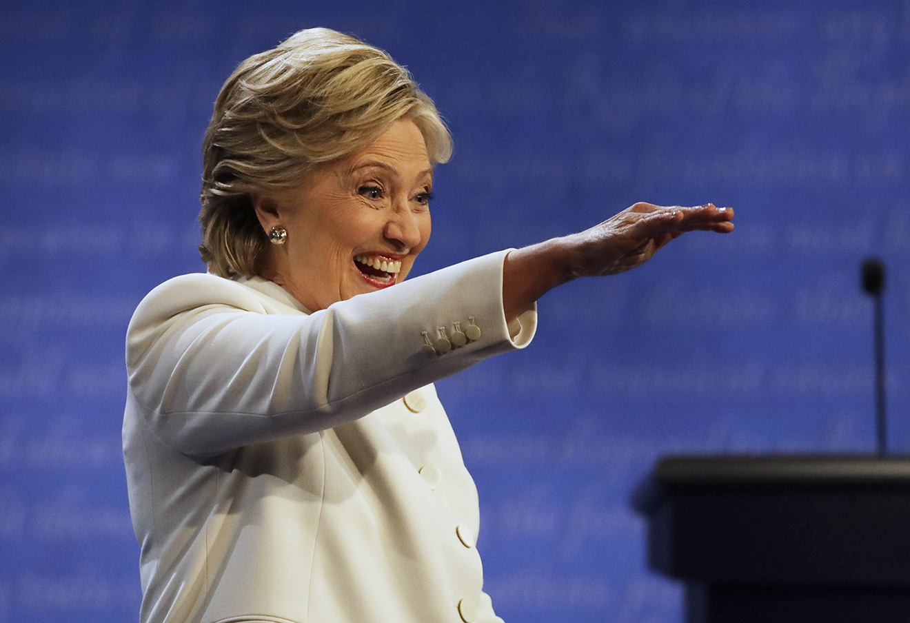 Хиллари Клинтон, 19 октября 2016 года. Фото: Patrick Semansky / AP