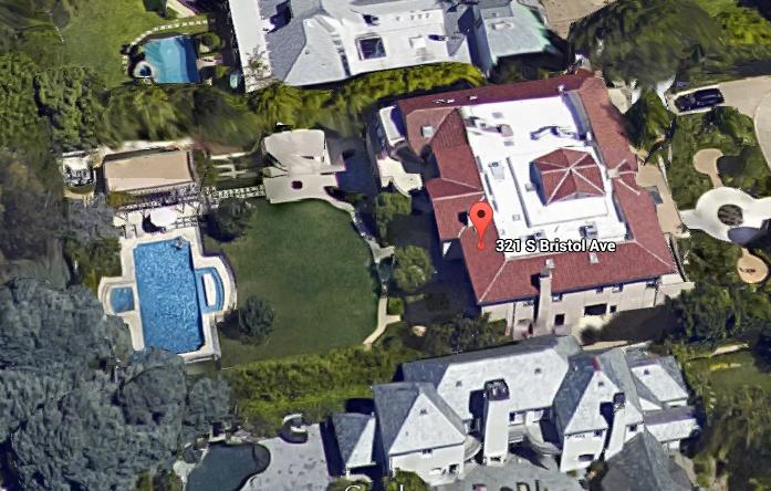 Недвижимость Михаила Лесина в Калифорнии.