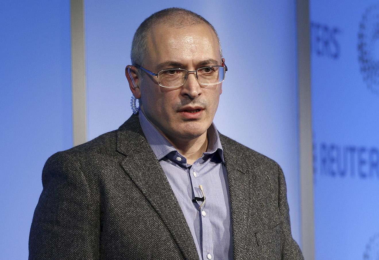 Михаил Ходорковский. Фото: Peter Nicholls / Reuters