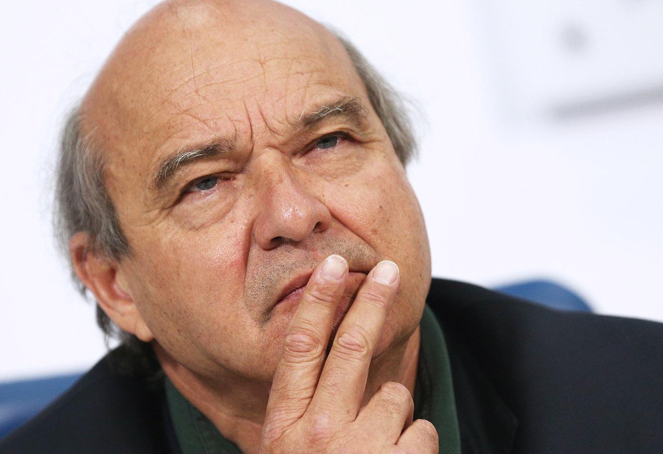 Ив Поццо ди Борго на пресс-конференции, посвященной итогам визита членов французского парламента в Крым.
