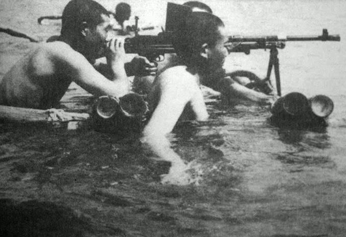 Высадка японских войск на остров Хайнань