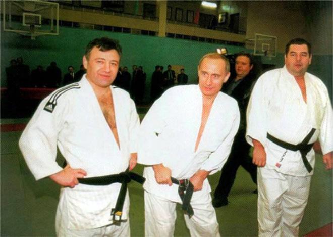 Аркадий Ротенберг, Владимир Путин