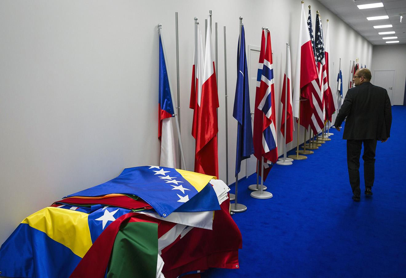 На саммите глав государств и правительств стран-участниц НАТО, Варшава, 2016 год.