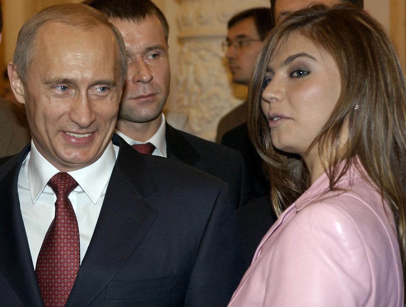 Владимир Путин и Алина Кабаева, 2004 год.