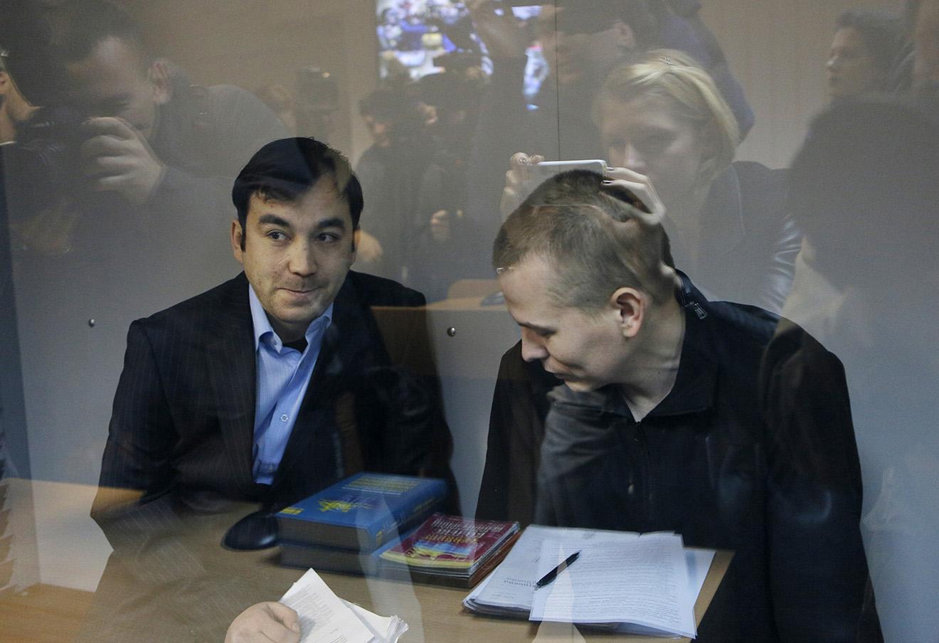 Евгений Ерофеев и Александр Александров.