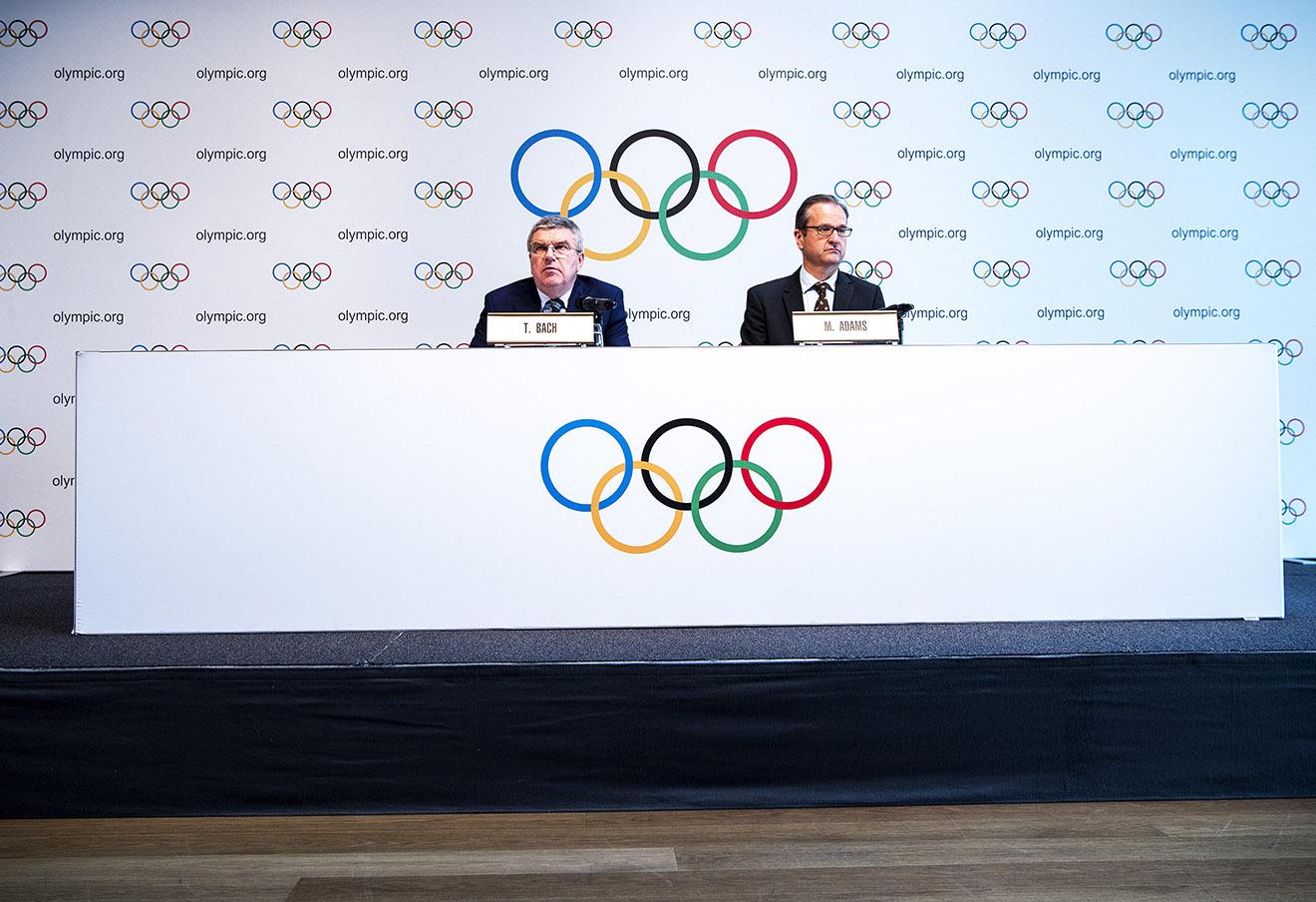 Томас Бах (слева), 21 июня 2016 года.