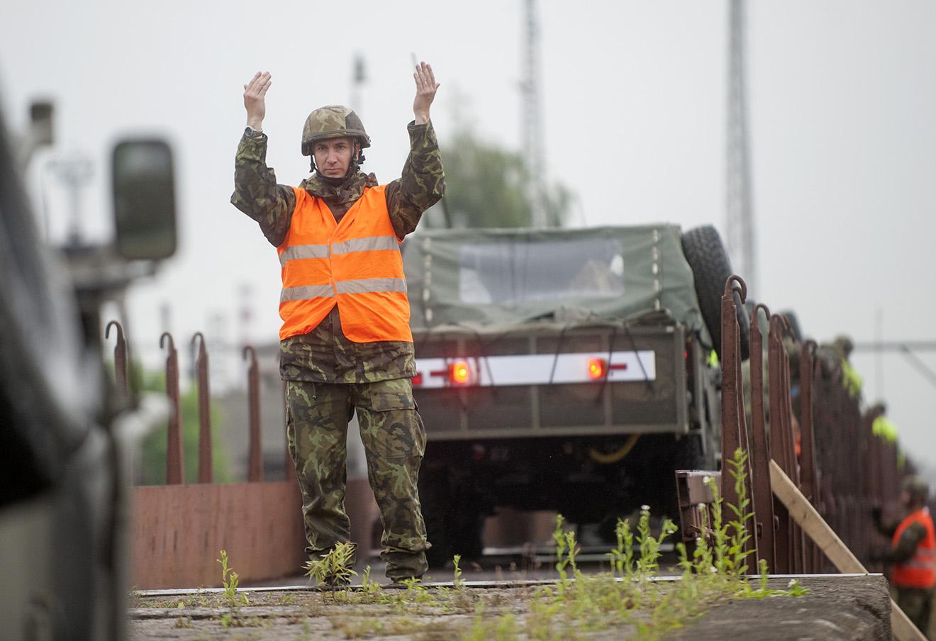Военные учения НАТО Noble Jump 2015 в Польше.